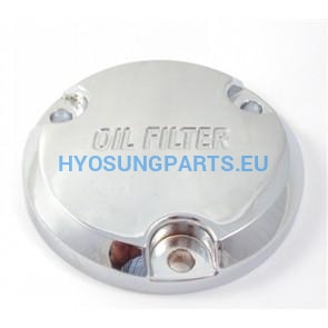 Hyosung Oil Filter Cover Chrome Gv250 - Free Shipping Hyosung Parts Eu