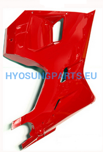 Hyosung Red Lower Right Fairing Gt125R Gt250R Gt650R - Free Shipping Hyosung Parts Eu