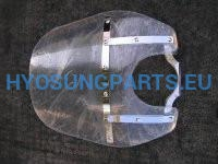 Hyosung Screen Windshield St7 - Free Shipping Hyosung Parts Eu