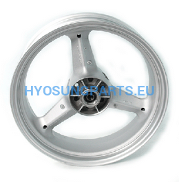 Hyosung Silver Rear Wheel Gv650 - Free Shipping Hyosung Parts Eu
