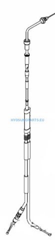 Hyousng Throttle Cable Sb50 Sd50 - Free Shipping Hyosung Parts Eu