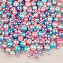 Load image into Gallery viewer, DIY Rainbow Color Pearl Beads