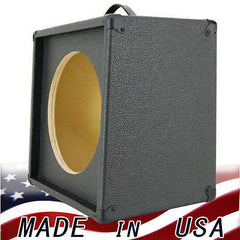 1x12 Extension Guitar speaker Empty cabinet Charcoal Black Tolex G1X12SL-CBTLX