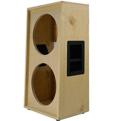 2x12 solid Pine, Raw wood vertical Guitar speaker Empty cabinet G2X12VSL RW