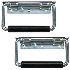 Road Case Handle 4 pcs surface mount zinc plated for Amp Racks speaker cabs