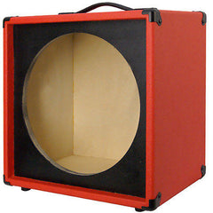 "1X15  Empty Guitar Speaker Cabinet For 15"" JBL E130-E140 Fire red Tolex"