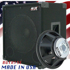 1X15 Bass Guitar Speaker Cabinet 400W 8 Ohms Black Carpet  440LIVE