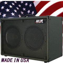 2x10 Guitar Spkr Cabinet W/CELESTION G10 Speakers Charcoal black Tolex G2X10ST
