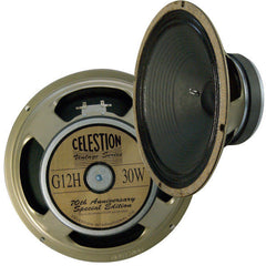 "CELESTION 1 each G12H 70TH Anniversary 8 Ohms 12"" Guitar Speaker Brand New"