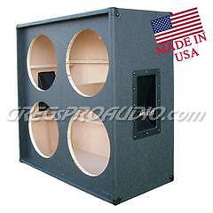 G412STtlx-E 4x12 Straight in Front Empty Guitar Speaker Cabinet Tolex