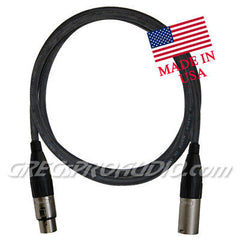 20 ft XLRf-XLRm for balanced signal or mic cable