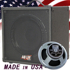 1x12 Guitar Speaker Extension Cabinet W/ 8 Ohms CELESTION Cls Lead 80 Bk Tolex