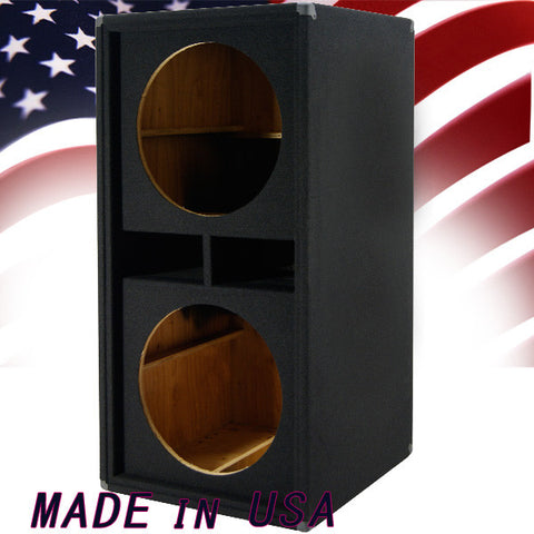 Empty Dual 18 Inch Bass / Subwoofer Cabinet