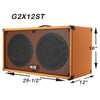 2X12 guitar speaker cabinet w CELESTION Vintage 30 speakers
