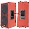 2X12 Vertical Guitar Spkr Cabinet w/Celestion Seventy 80 Spkr Fire Hot Red Tlx