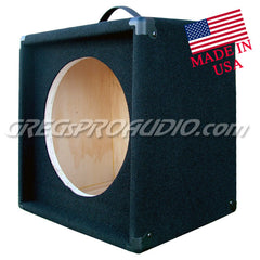 GUITAR SPEAKER SLANT EMPTY CABINET for 12'' guitar speaker