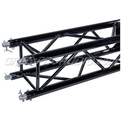 SQ-4113-BLK 8.20ft. (2.5m) Black Powder Coat Square Truss Segment
