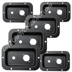 JACK PLATE, with 1, NL4 & 1, 1/4'' hole cut outs, 6 pieces