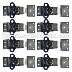 LATCH, SURFACE MOUNT ZINC, SOUTHCO BRAND, 8 pcs