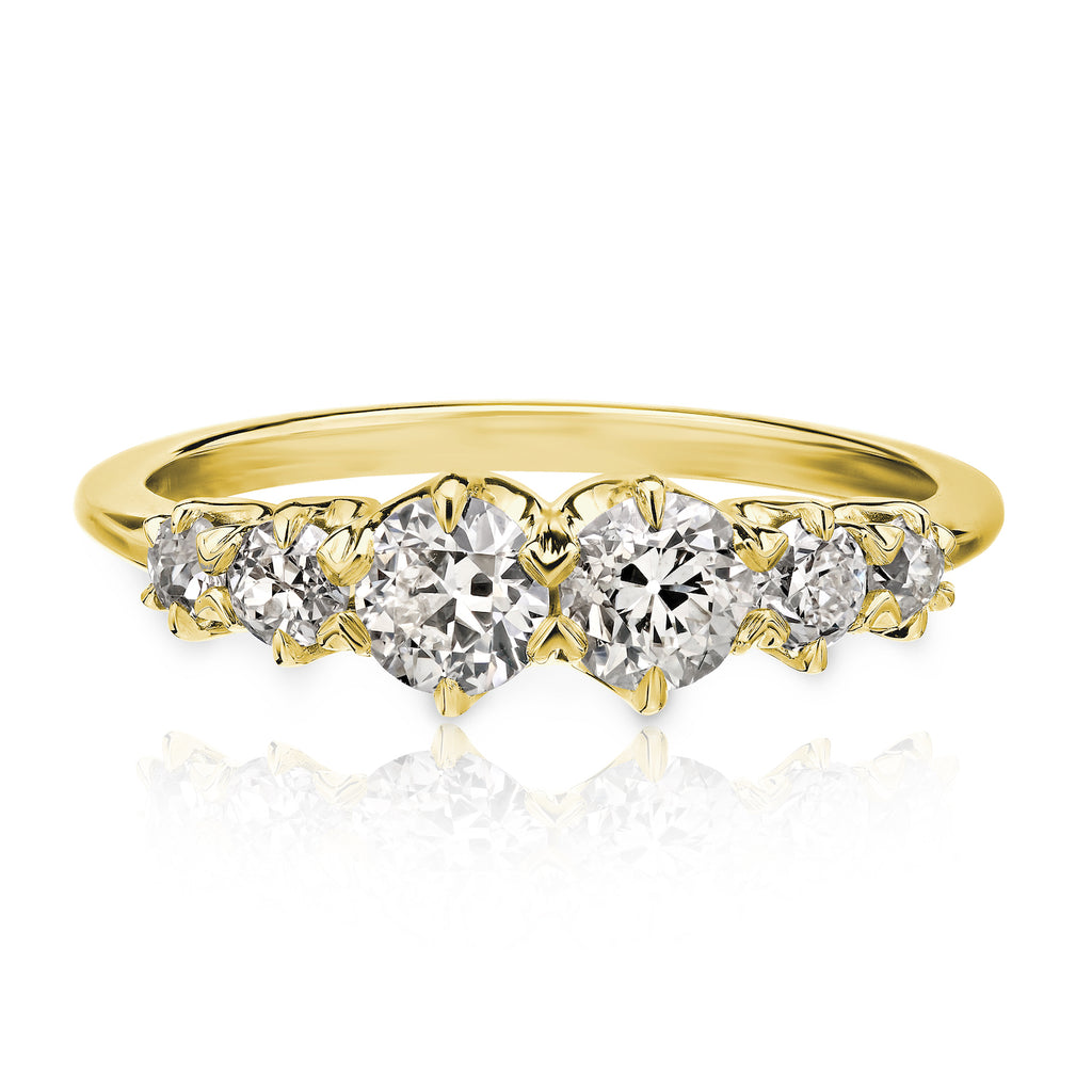Roku 6-Stone Old European | Yellow Gold