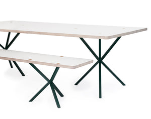 NEB Rectangular Table with Top in Laminate