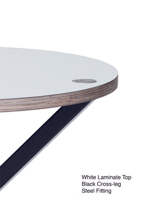 NEB Round Dining Table with Top in Laminate