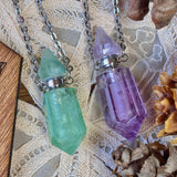 Crystal Potion Bottles