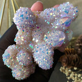 Lilac Angel Aura Spirit Quartz Cloud Cluster
