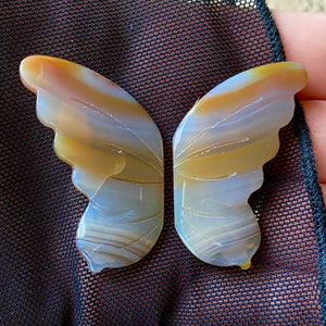 Awakened Spirit Agate Butterfly Wings