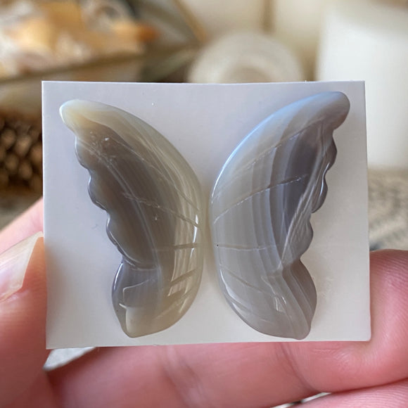 Rebirth Agate Butterfly Wings