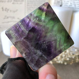 Rainbow Fluorite Cleansing Square 18FS