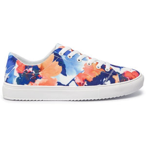 Canvas Sneaker - Camo Flower
