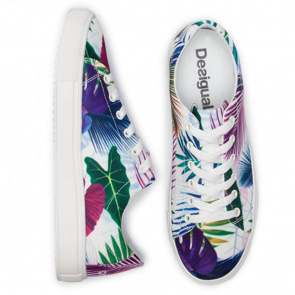 Bio Patching Floral Sneakers