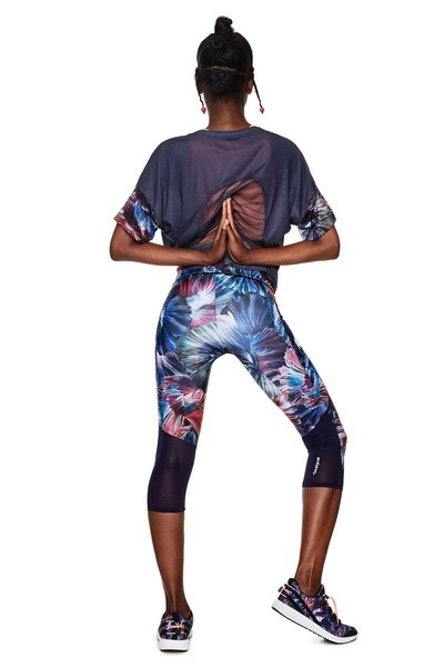Capri Leggings - Atlantis