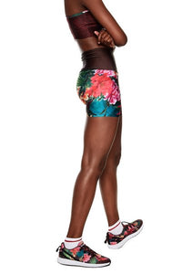 Fitted Shorts - Tropic