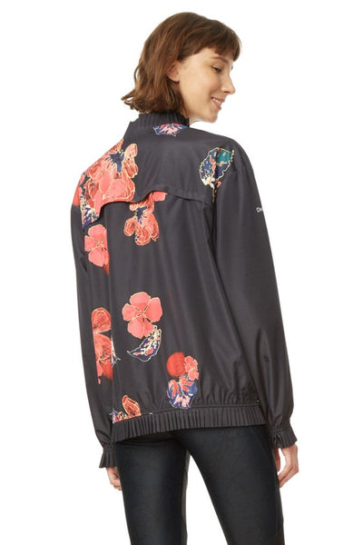 Bomber Jacket - Scarlet Bloom