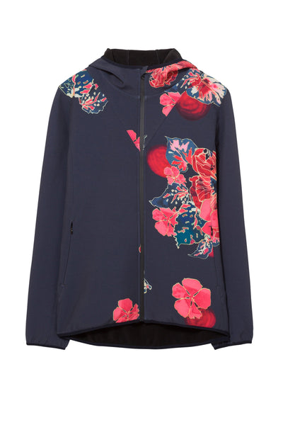 Jacket - Soft Shell Scarlet Bloom