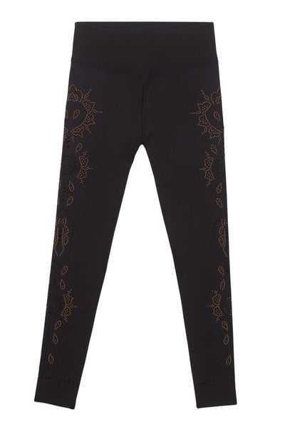 Hindi Dancer Studded Leggings