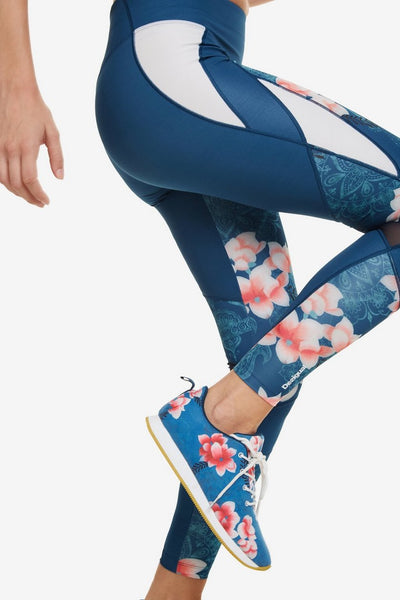 Hindi Dancer Floral Leggings