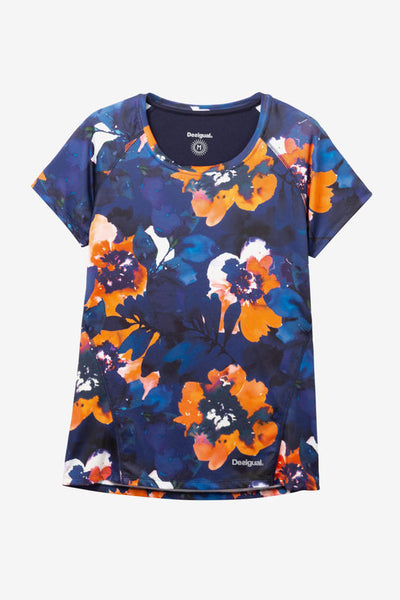 Camo Flower Technical T-shirt