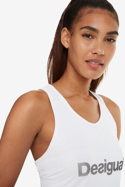 Tank Essentials Floaty Top - White