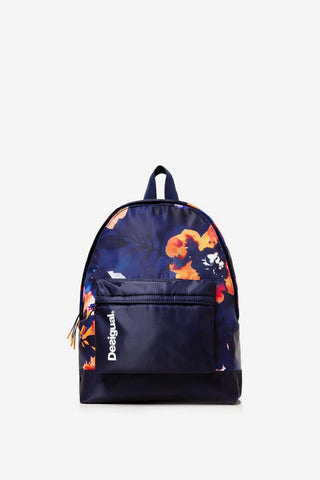 Camo Flower Botanical Print Backpack