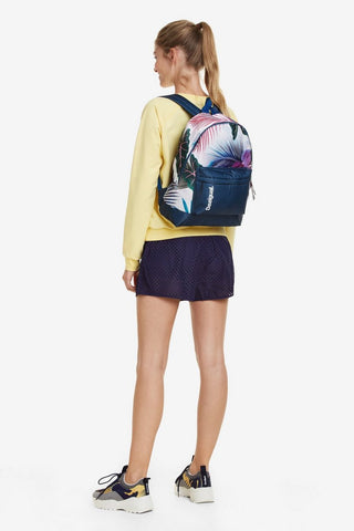 Bio Patching Tropical Print Backpack