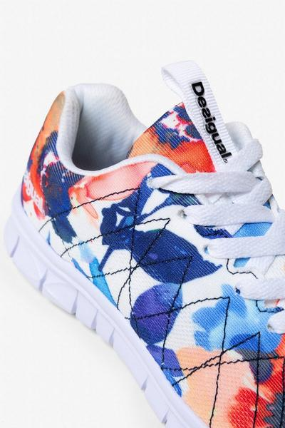 Running Shoes - Camo Flower