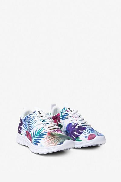 Bio Patching Floral Running Shoes