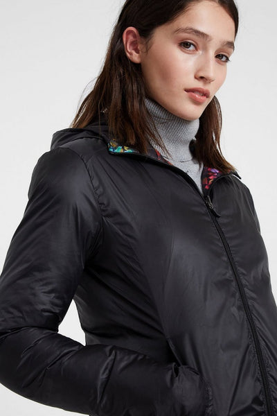 Padded Reversible Sports Jacket - Patch