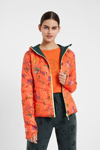 Padded Reversible Jacket - Gardens