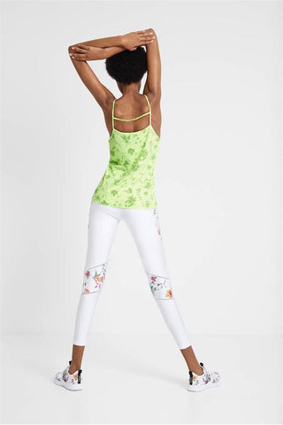Fluro Tank Top - Green