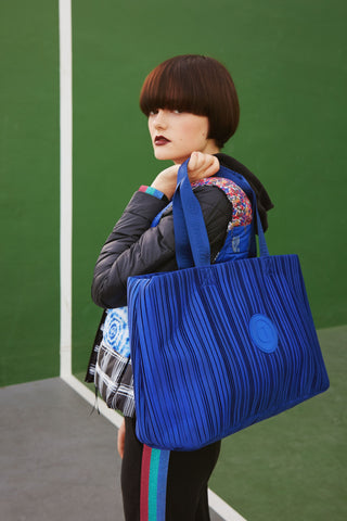 2 in 1 Sports Bag - Electric Blue Duffle