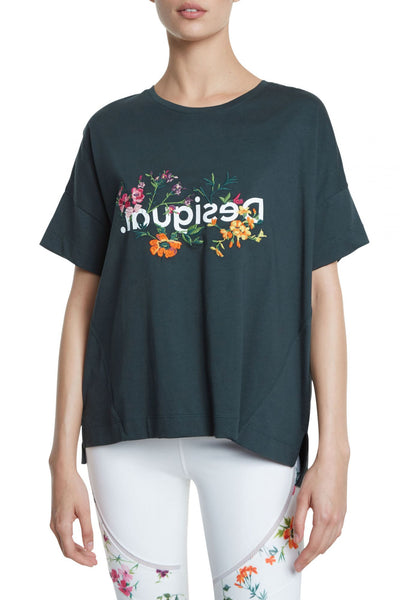 Oversized T-Shirt - Flowers